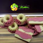 naturalnie naturalni mydło naturalne róż różowy mika olej kokosowy masło kakaowe masło wosk pszczeli oliwa z oliwek babeczki ciasteczka