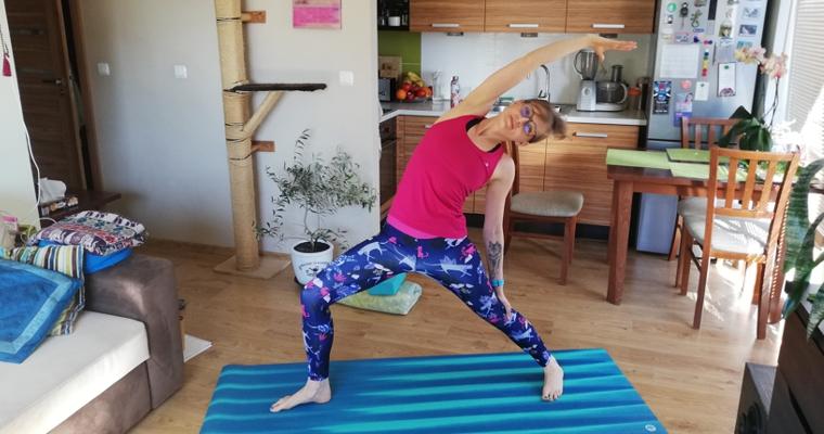 Zajęcia jogi online na czas kwarantanny